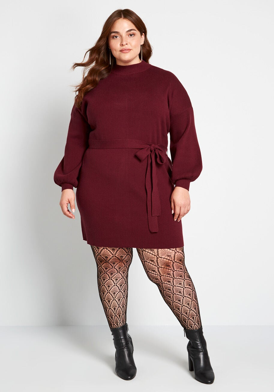 Modcloth Total Softie Sweater Dress