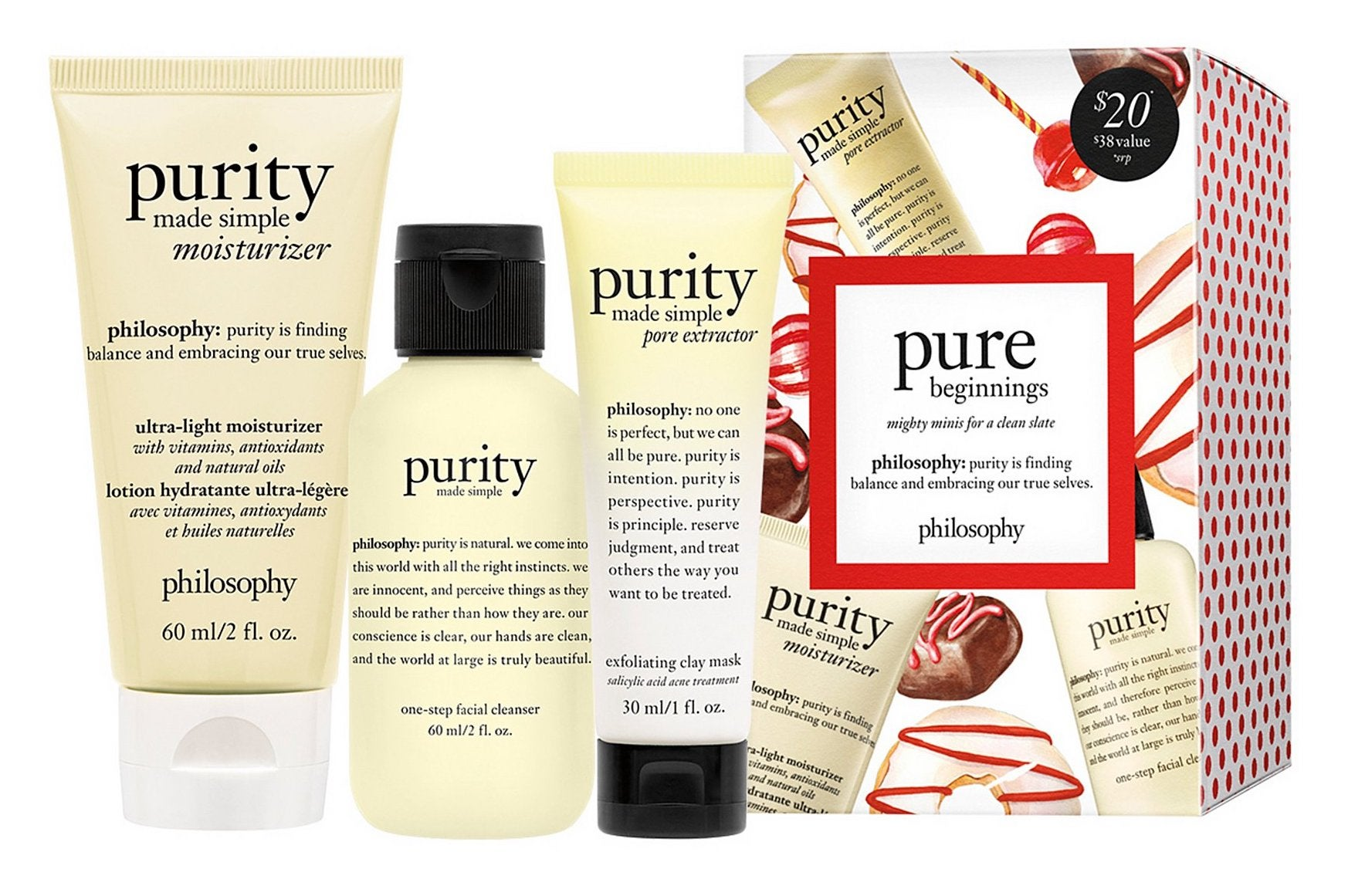 Philosophy Purity Trio 3-Piece Gift Set