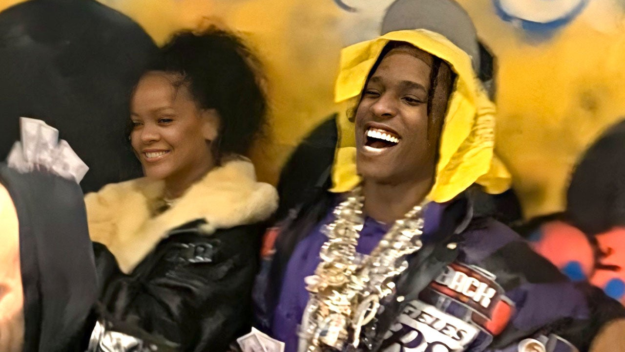 Rihanna Spotted with A$AP Rocky After Reported Split From Boyfriend