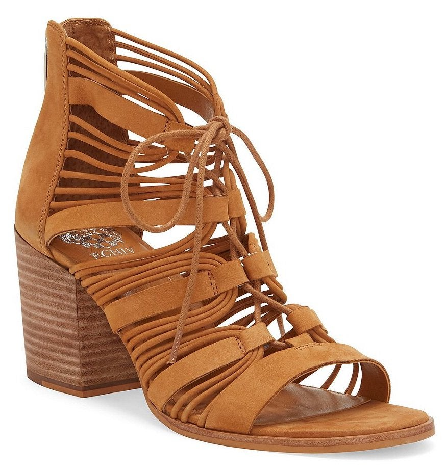 Vince Camuto Kaiann Lace-Up Booties
