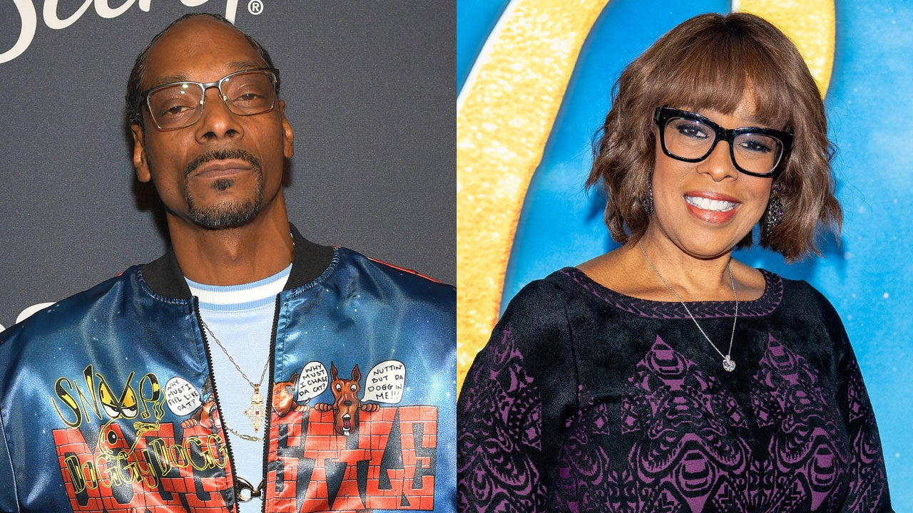 Image result for images of snoop dogg and gayle king