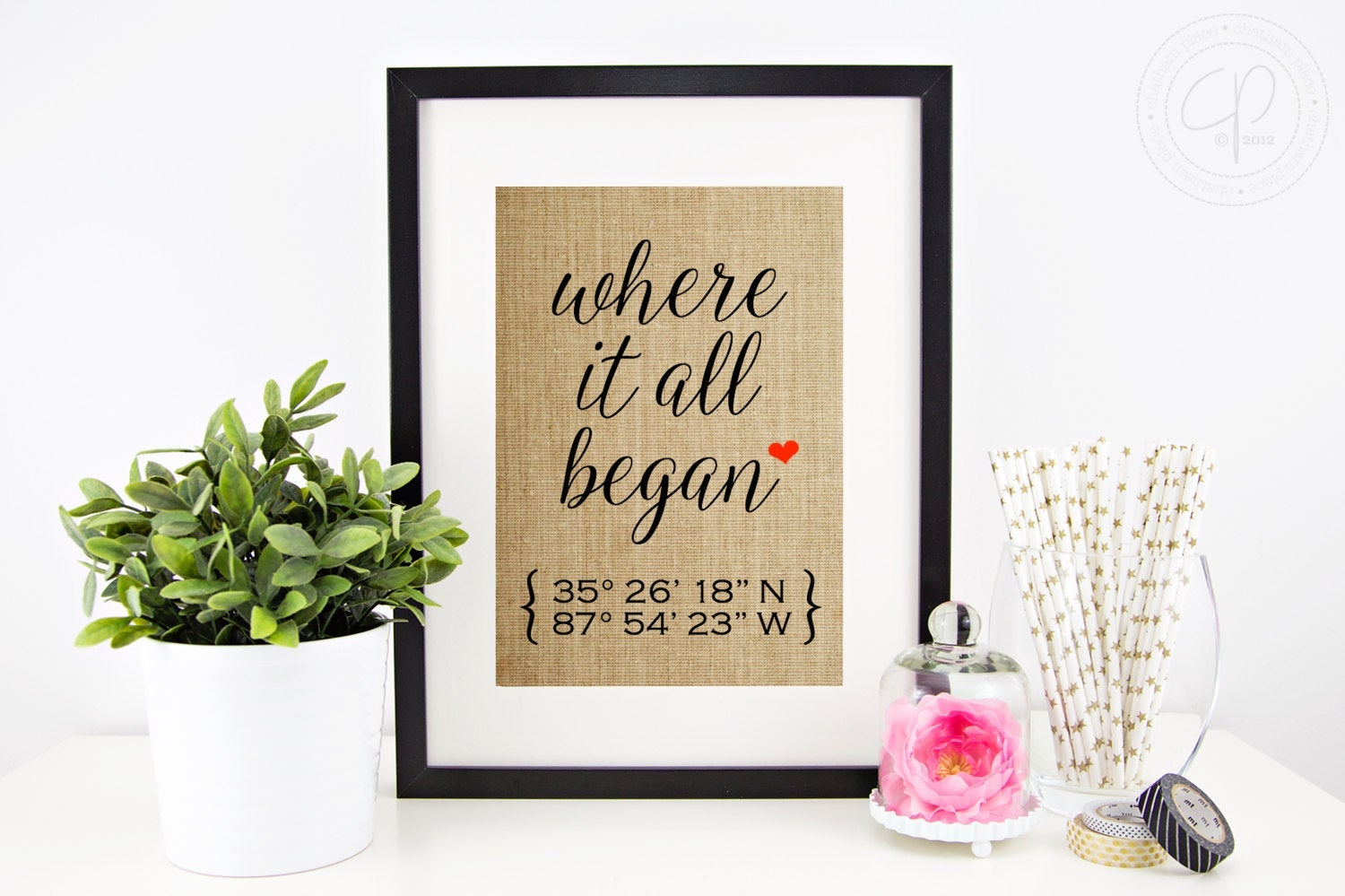 Etsy Where It All Began Print