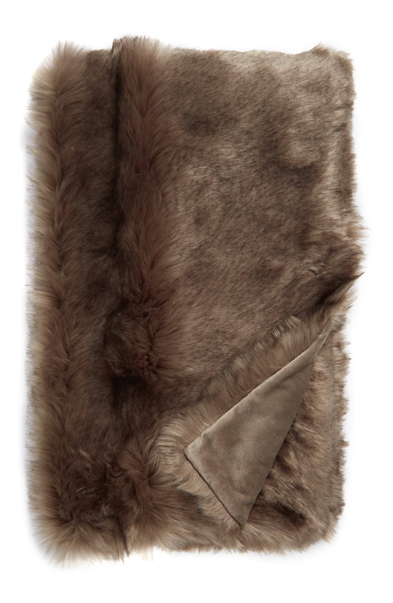 Nordstrom Arctic Faux Fur Throw Blanket