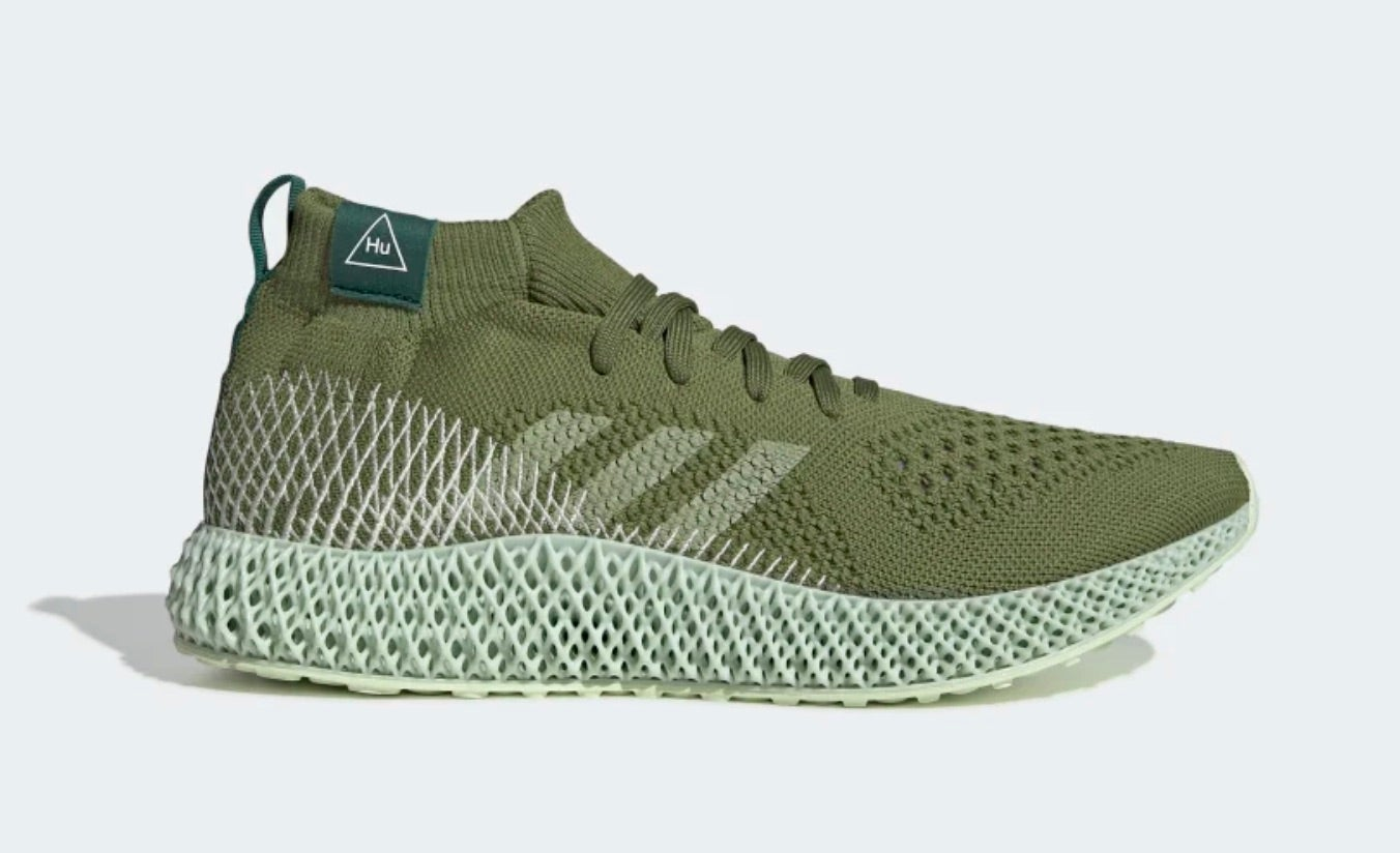 Adidas Pharrell Williams 4D Shoes