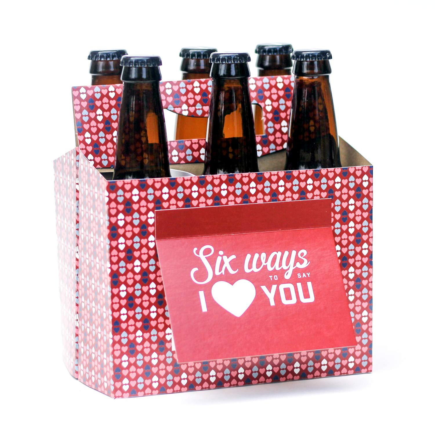 Beer Greetings Six Ways to Say I Love You Six-Pack
