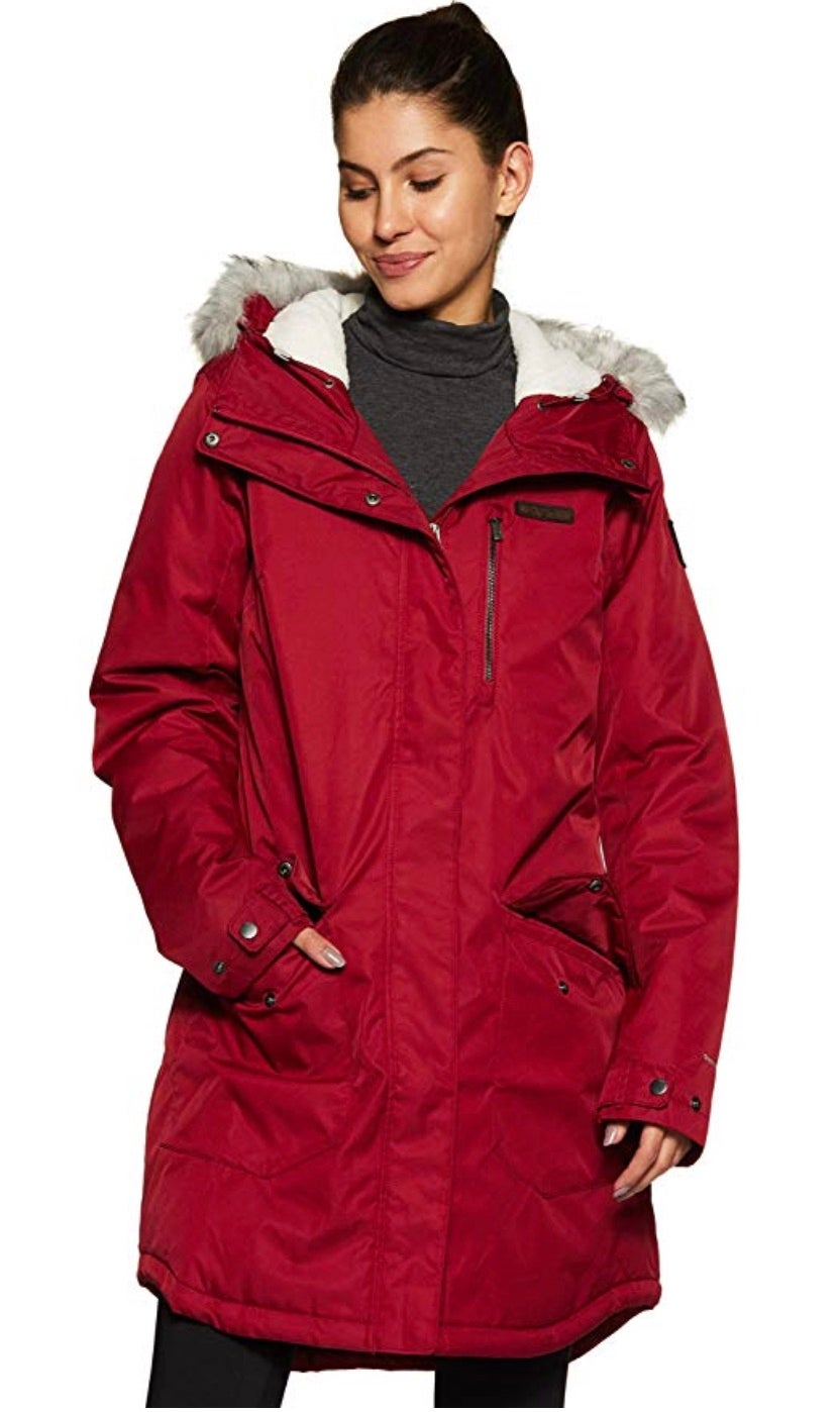 Columbia Suttle Mountain Long Insulated Jacket