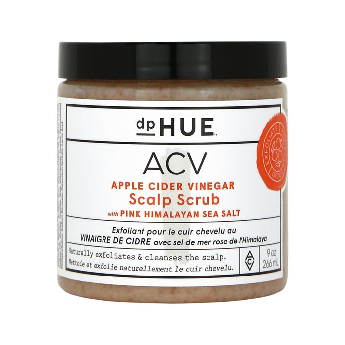 dpHUE Apple Cider Vinegar Scalp Scrub with Pink Himalayan Salt