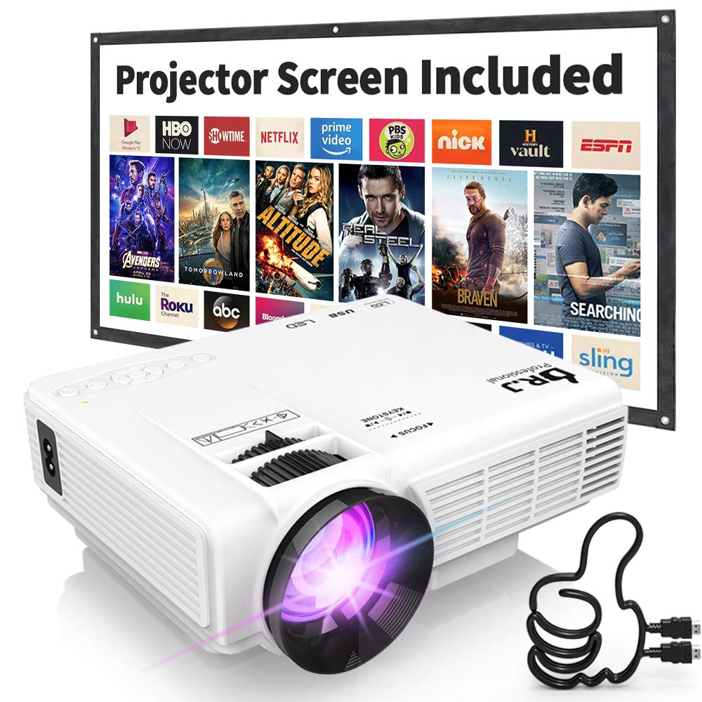 Dr. J Professional Supported Portable Movie Projector