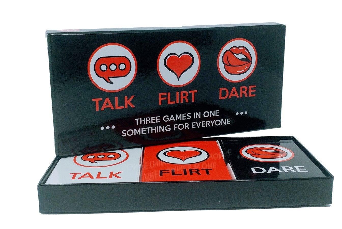 Artagia Talk Flirt Dare Card Game
