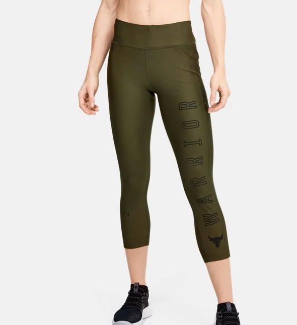 Under Armour Project Rock HeatGear Armour Warrior Ankle Crop