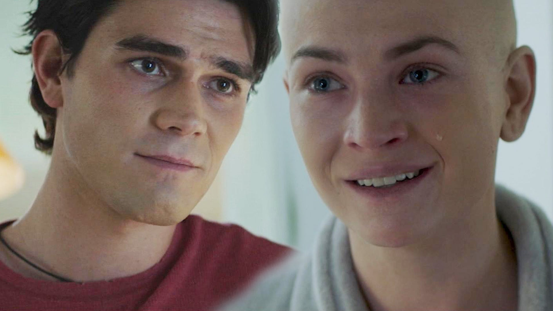 KJ Apa and Britt Robertson Share an  Emotional Moment Amid Cancer Battle (Excl | Entertainment Tonight