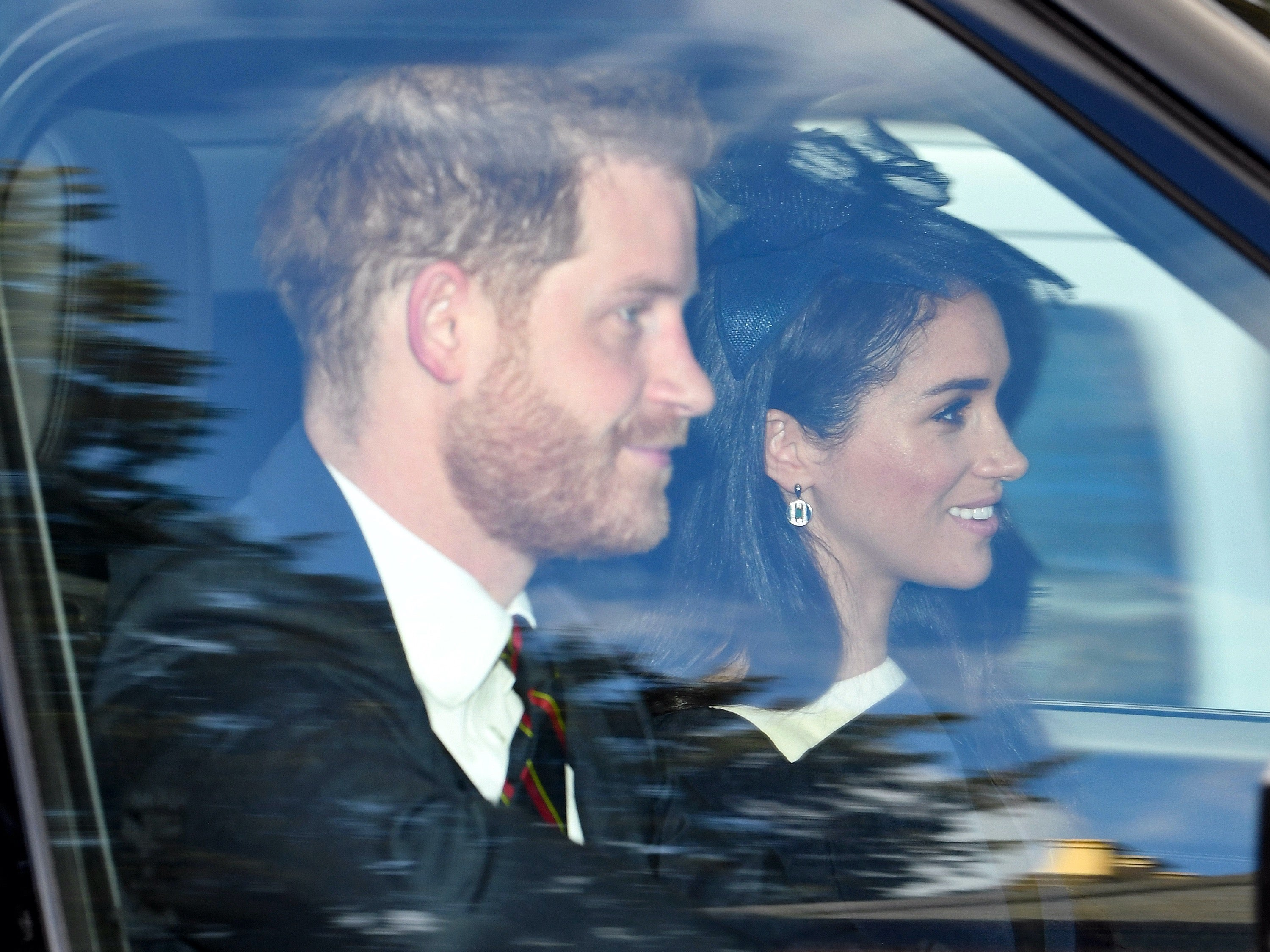 Meghan Markle and Prince Harry Attend Church Service With Queen ...