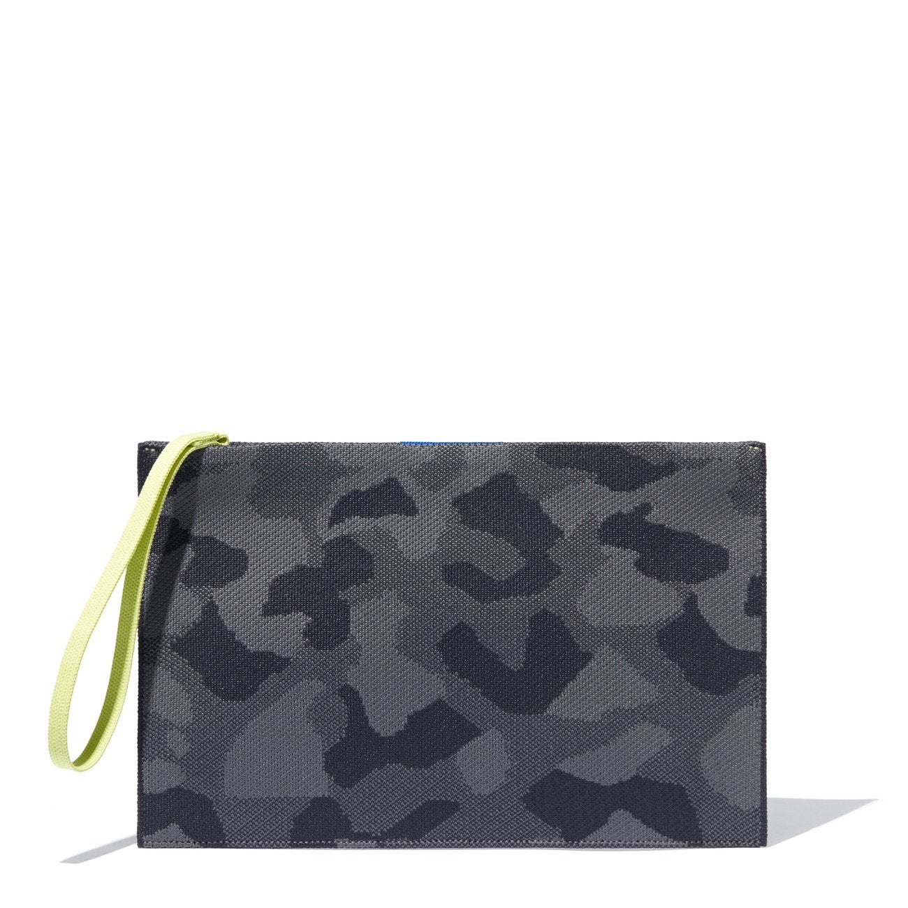 Rothy's Essential Pouch in Slate Camo