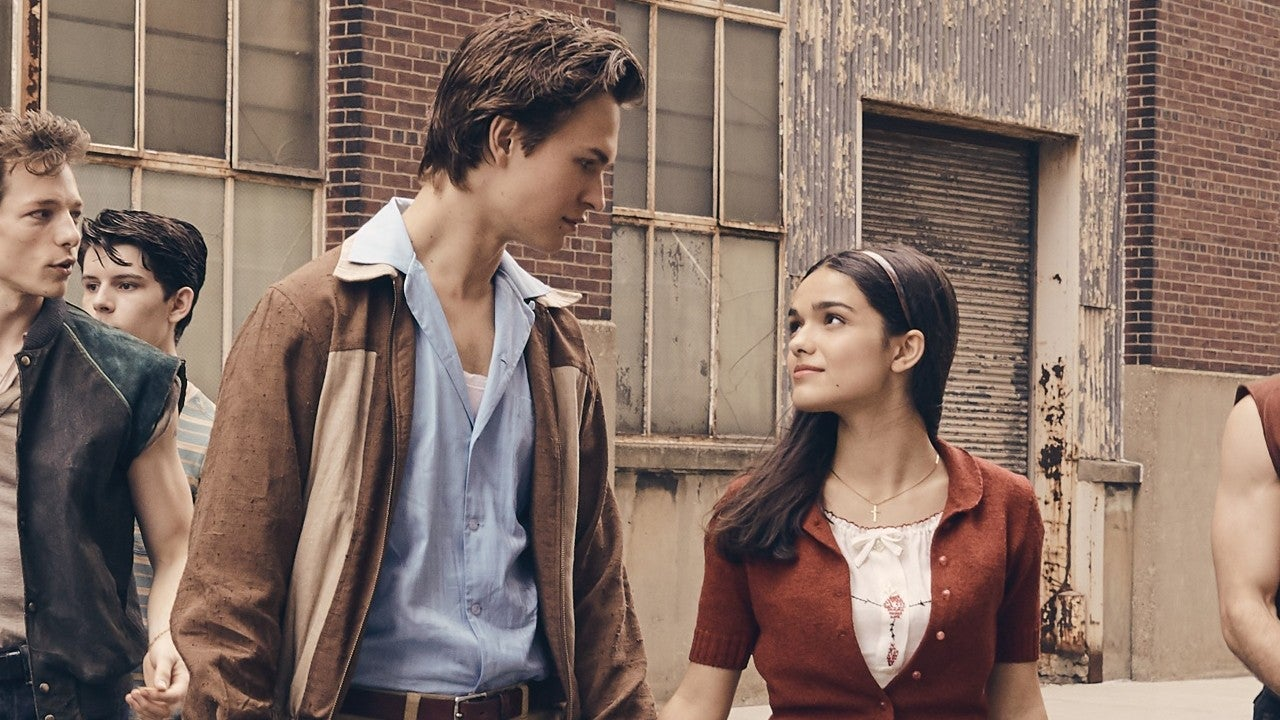 West Side Story' Debuts Dazzling First Trailer Starring Ansel Elgort: Watch  | Entertainment Tonight