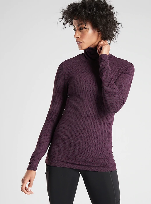 Flurry Peak Turtleneck
