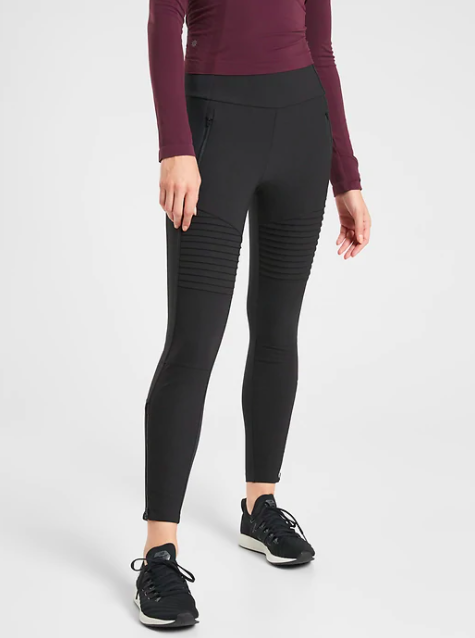 Athleta Headlands Hybrid Moto Tight