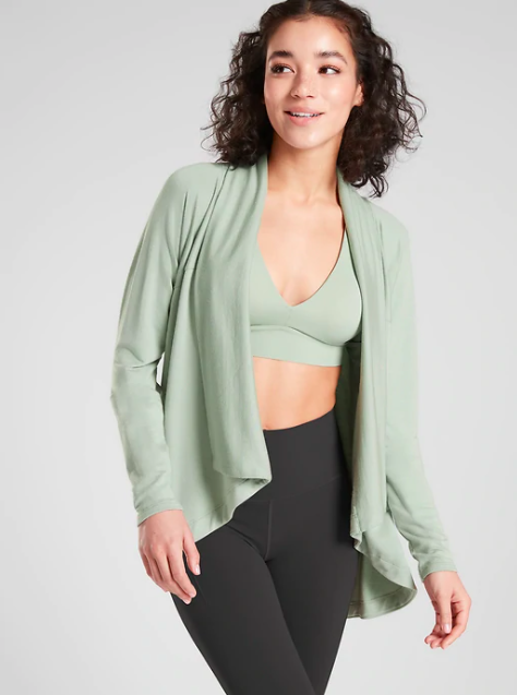 Athleta Nirvana Wear Two Ways Wrap