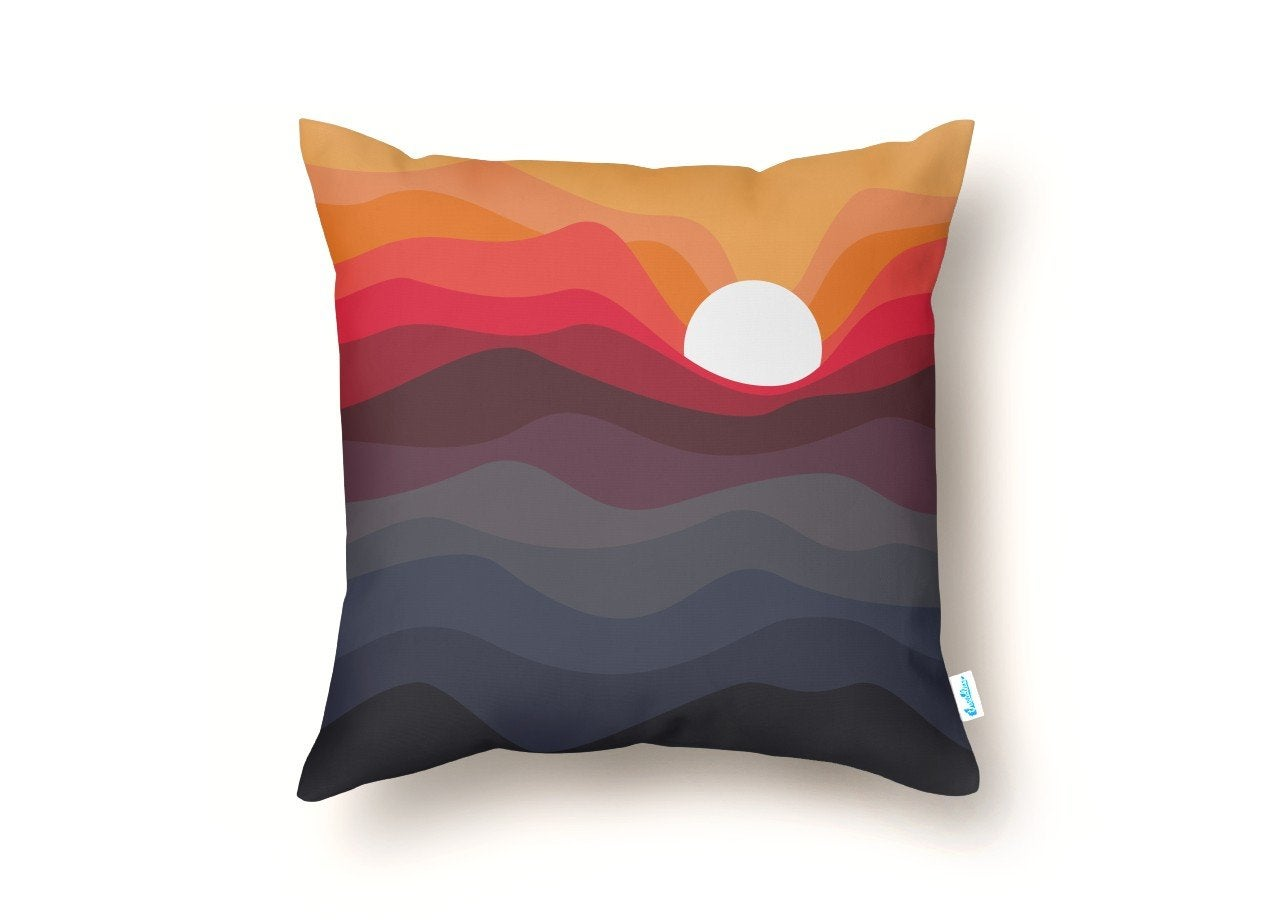 Threadless Outono Throw Pillow