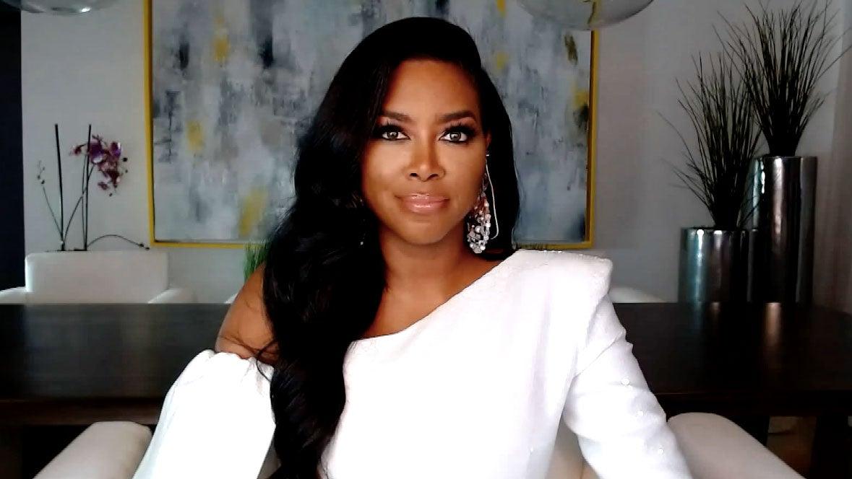 Kenya Moore at the 'Real Housewives of Atlanta's virtual reunion