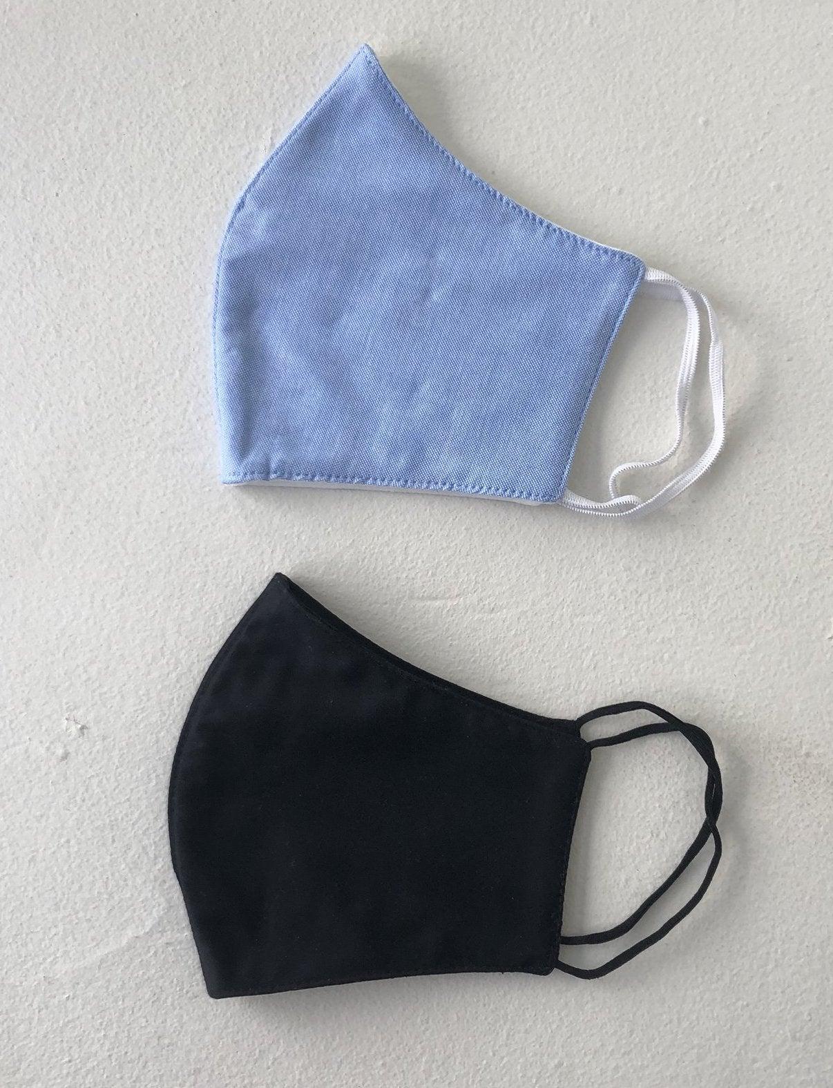 3-Layer Washable Face Mask (Pack of 5, Unisex)
