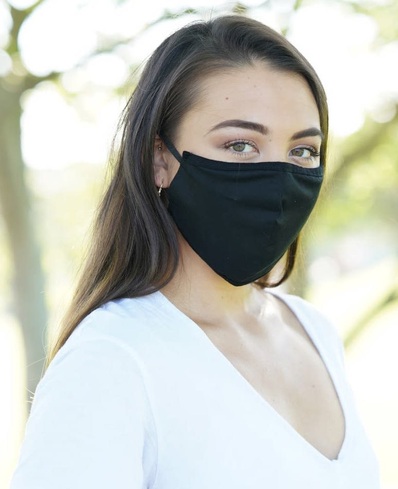 Fabric Mask w/ Pocket for Disposable Filter