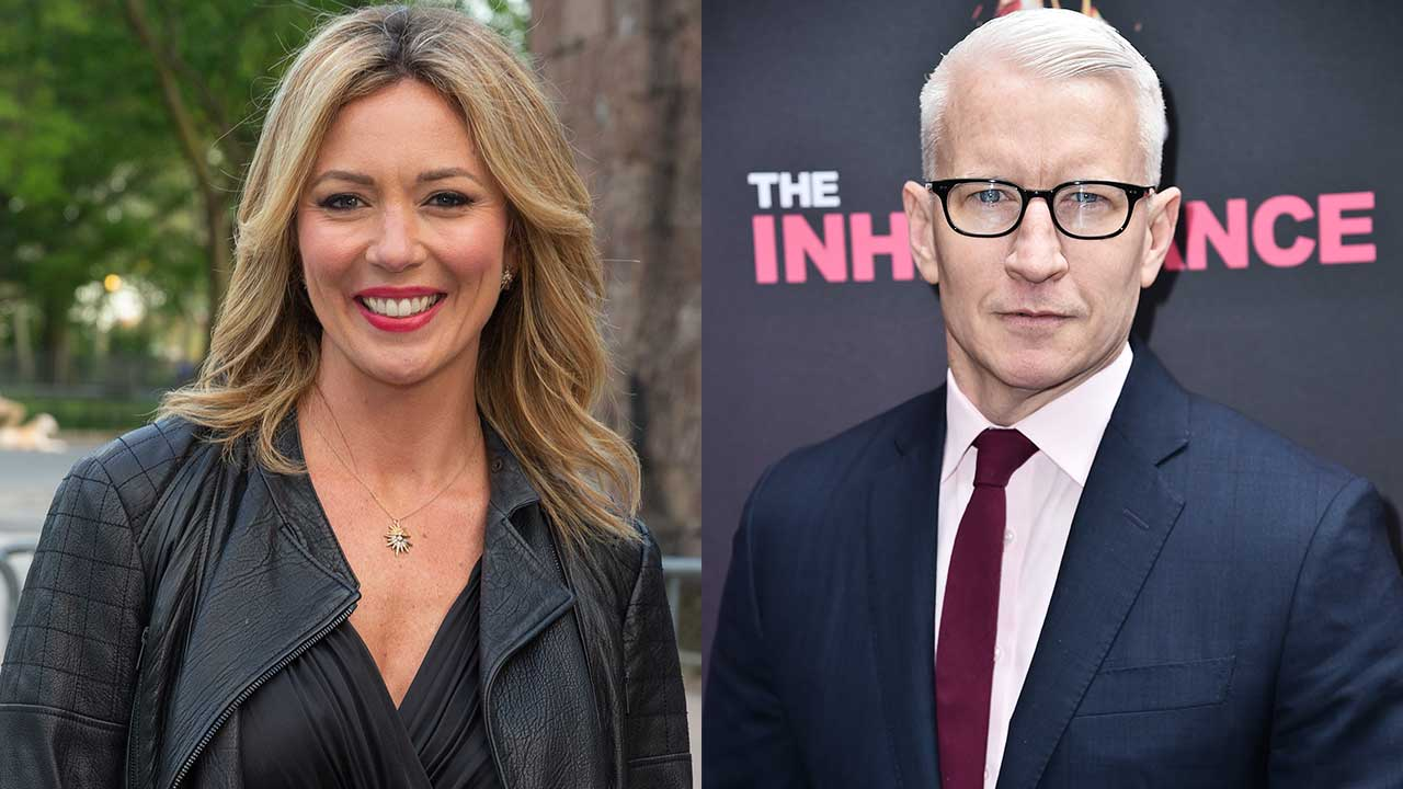 Brooke Baldwin and Anderson Cooper