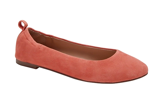 Banana Republic Leather Easy Ballet Flat