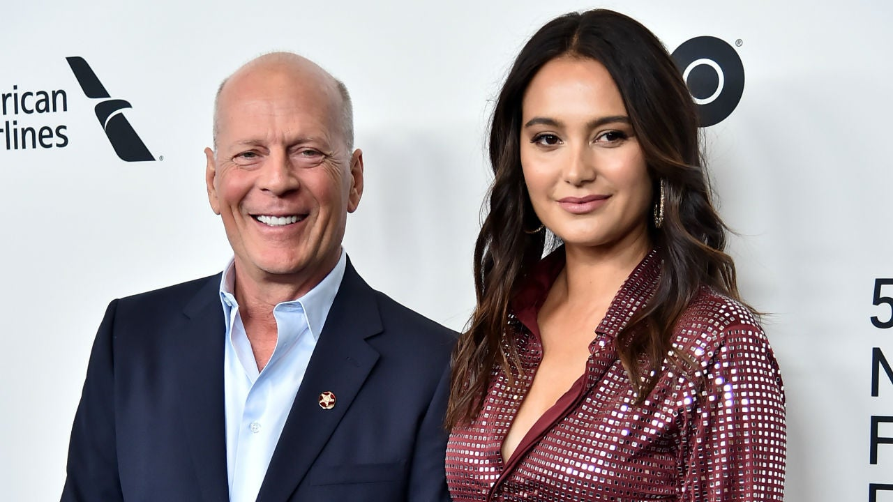 Bruce Willis Reunites With Wife Emma Heming After Being Quarantined With Ex Demi Moore Entertainment Tonight