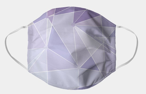 Disney Purple Wall Face Mask Mask