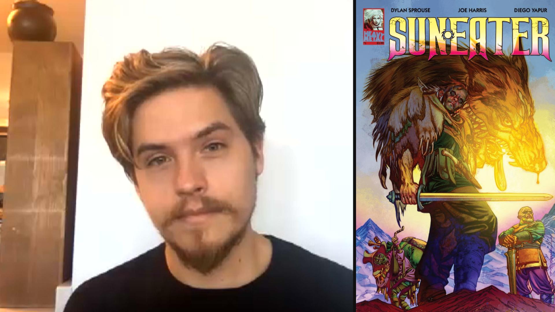 Dylan Sprouse Opens Up About New Comic Book 'Sun Eater' (Exclusive)