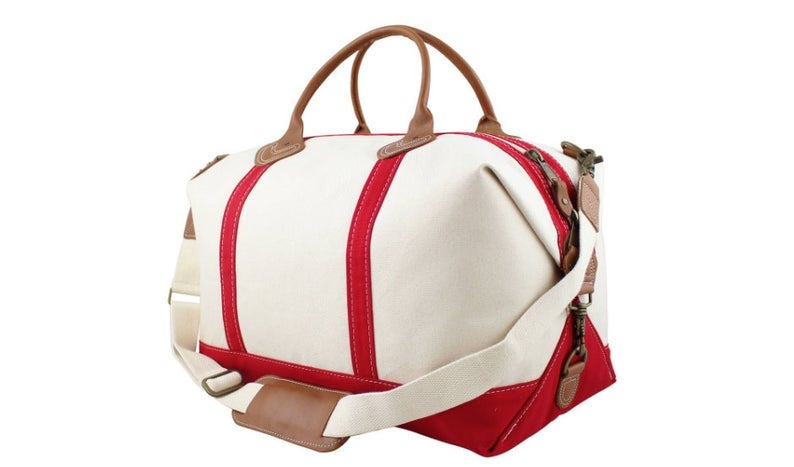 Etsy Monogram Weekender Overnight Travel Bag