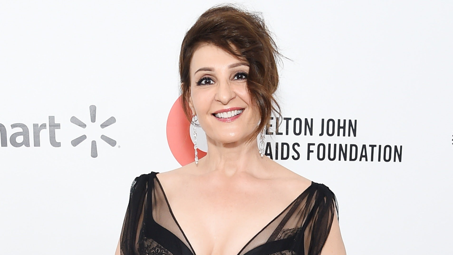 Nia Vardalos attends the 28th Annual Elton John AIDS Foundation Academy Awards Viewing Party