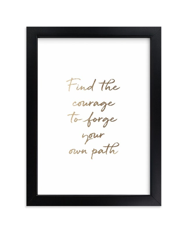 Minted Custom Quotes Frame