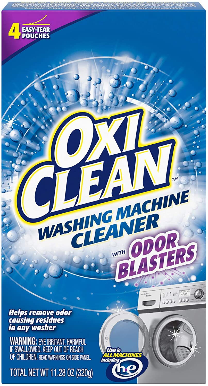 Washing Machine Cleaner with Odor Blasters