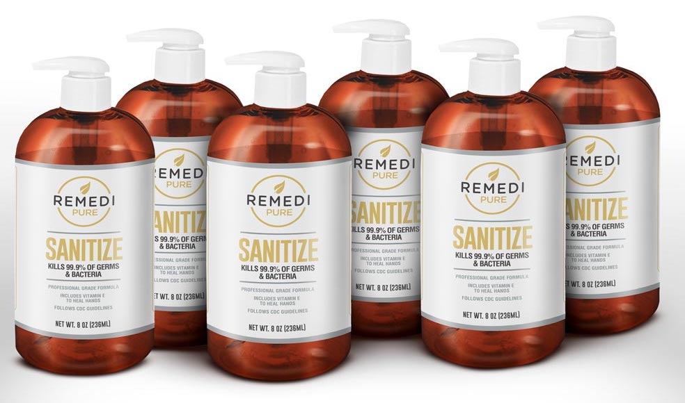 Remedi Sanitize – 8oz (6 Pack)
