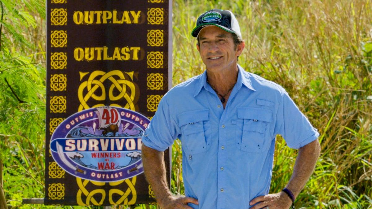 Jeff Probst - Survivor 40