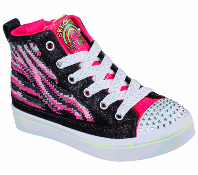 Skechers Flip Kicks- Twi-Lites 2.0 in Neon Muse