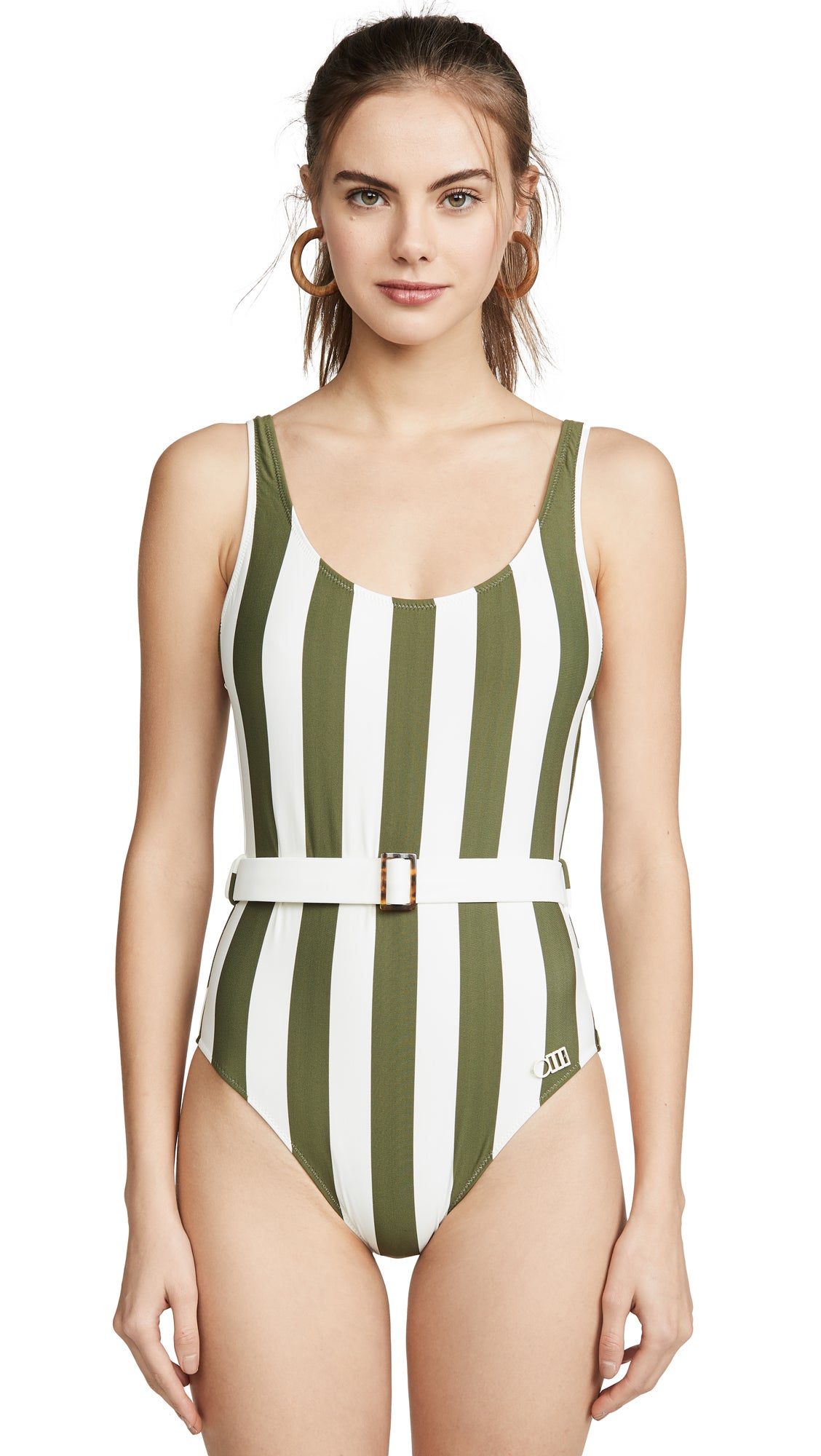 Solid & Striped Anne Marie Belt One Piece