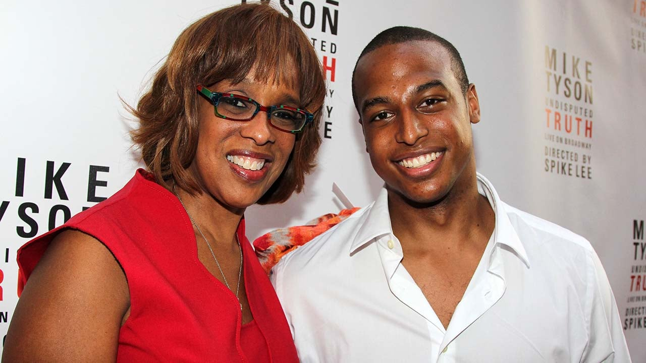 Gayle King and her son Will Bumpus attend the Broadway opening night for