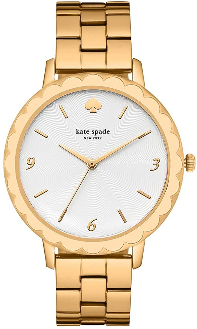 Reloj de pulsera de acero inoxidable Kate Spade Morningside