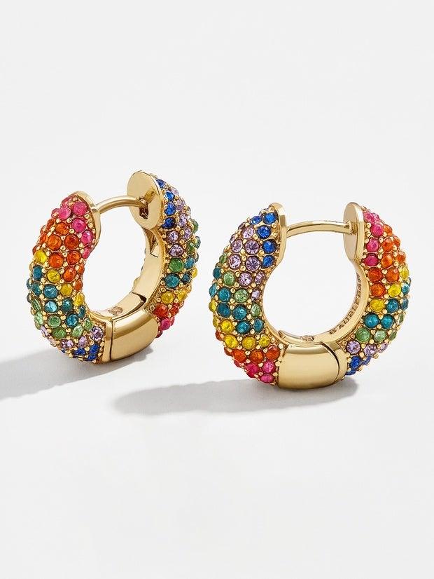 Annia Huggie Hoop Earrings