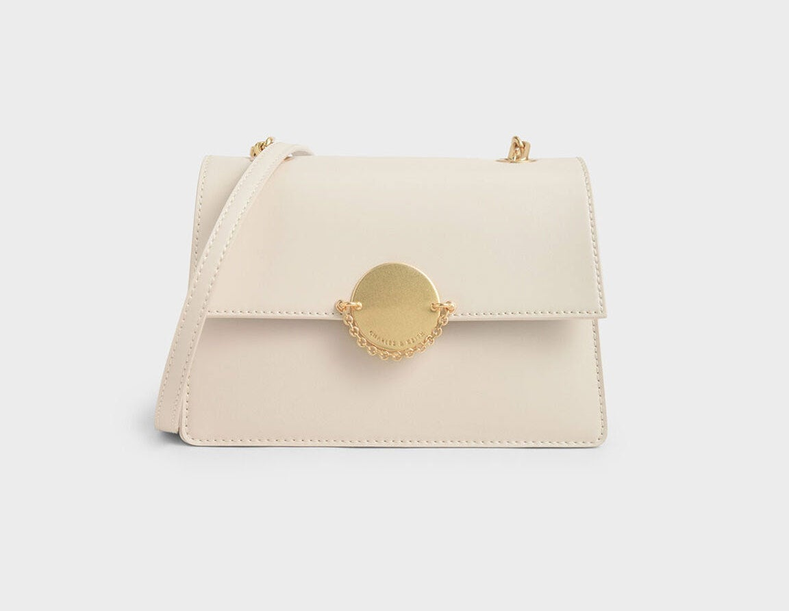 Charles & Keith Chain Link Crossbody Bag