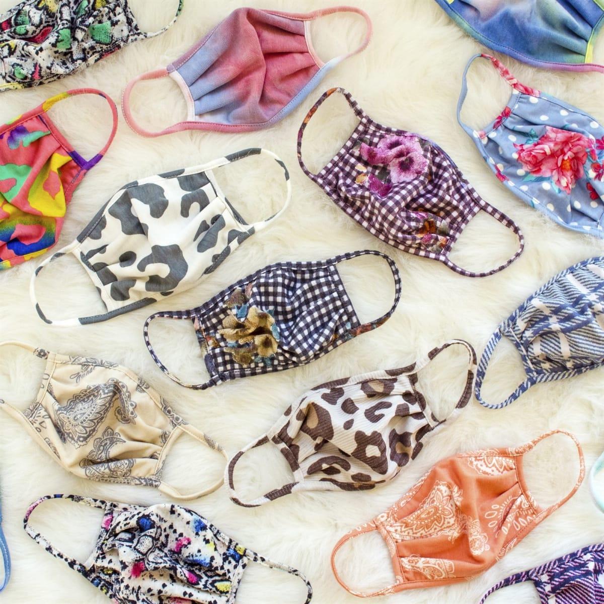 Reusable Gathered Masks