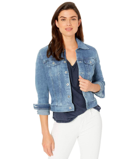 AG Robyn Fitted Stretch Denim Jacket
