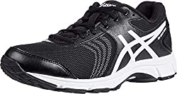 ASICS women's walking shoe black and white