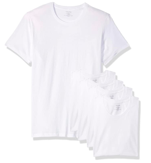 Calvin Klein Cotton Classics Multipack Crew Neck T-Shirts