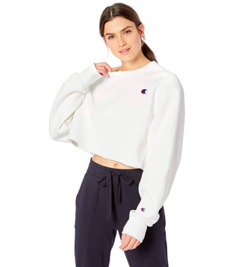 Champion LIFE Reverse Weave Cropped Cut Off Crew