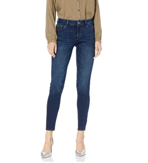 DL1961 Emma Instasculpt Low Rise Skinny Fit Jeans