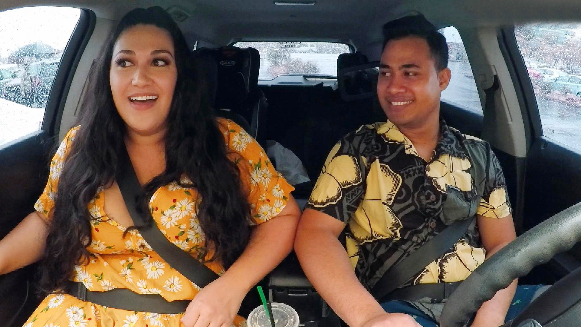 '90 Day Fiancé': Asuelu Confidently Takes Kalani on a 'Romantic Date' to Go Axe Throwing (Exclusive)