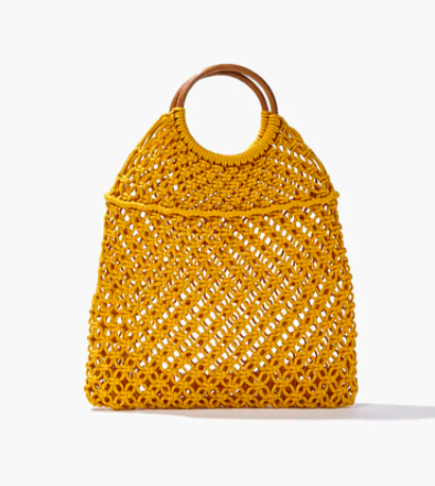 Forever 21 Open-Knit Tote Bag
